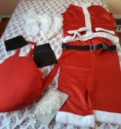 Título do anúncio: Fantasia Completa ( de luxo ) do Papai Noel!!!