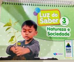 Título do anúncio: Livro infantil III NATUREZA E SOCIEDADE