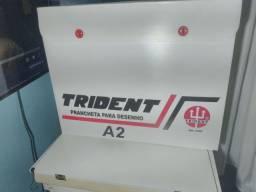 Prancheta Trident Portatil C/ Regua Paralela A2