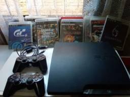 PS3 slim 500GB troco por PS4