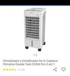Vendo climatizador novo