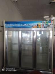 Freezer fricon de 3 portas