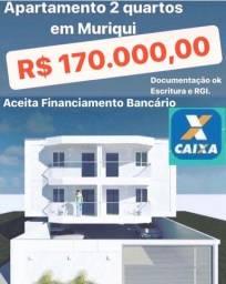 Título do anúncio: Apartamento 2 quartos em Muriqui