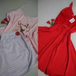 Baby doll e camisola - últimas peças!