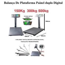 Título do anúncio: Balança De Plataforma Painel duplo Digital 150Kg 300kg 500kg