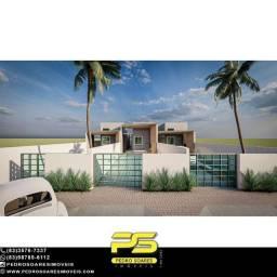 Casa com 2 dormitórios à venda, 72 m² por R$ 180.000 - Carapibus - Conde/PB