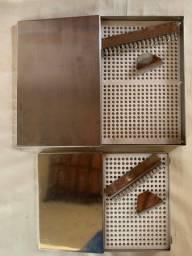 Título do anúncio: Encapsuladora manual INOX cápsulas 500mg