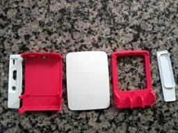 Case /p raspberry pi 3 + cartão memória
