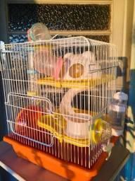 Gaiola para Hamster Completa Safari 3 andares