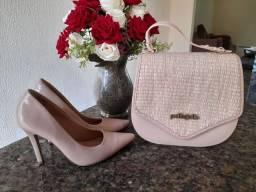 Rolpa, bolsa e calçado