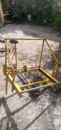 Quadro de bicicleta cargueira