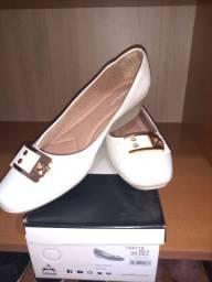 Sapato branco piccadilly