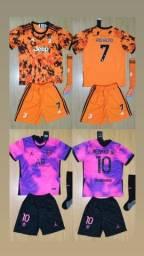 Título do anúncio: Uniformes Infantis Completos Futebol