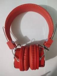 Fone de Ouvido Headphone recarregável: Wi-fi, Bluetooth, Rádio