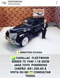 Título do anúncio: Miniatura Cadillac Poderoso Chefao