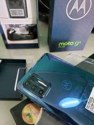 Moto G9 plus 128 gigas nunca foi usado, nota fiscal e garantia de 1 ano