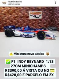 Título do anúncio: Miniatura F1 Indy Reynard Minichamps 1:18