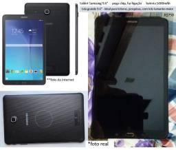 """tablet, faz ligaçao funciona chip, tela 9.6"""" grande, bateria 5000mAh samsung"""
