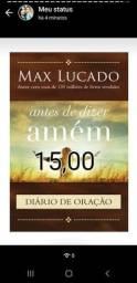 Livro antes de dizer amém Max Lucado