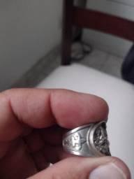 """Anel de prata """" São Jorge """""""
