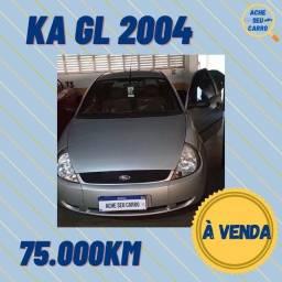 Ford Ka 2004 Com 75.000 KM