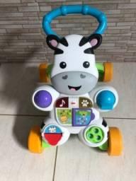 Andador Para Bebê De Empurrar Musical Fisher-price
