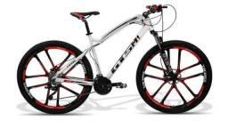 Bicicleta Gtsm Montain Bike aro 29 roda de magnesio quadro 29 Aluminio