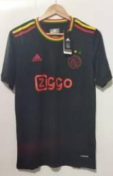 Camisa Ajax 2021/2022 Oficial Bob Marley
