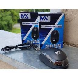 Mouse Barato 800dpi Max Mídia USB Wired Gaming PC, Gamer, Laptop, Notebook, DVR, NVR
