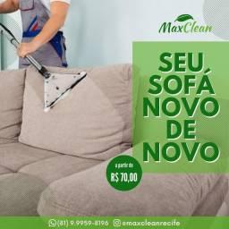 Lavagem a Seco em Domicílio Max Clean Serviços