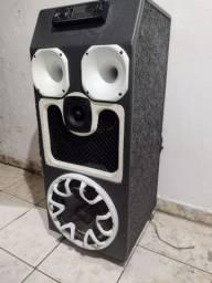 Caixa de som profissional pra casa e carro também