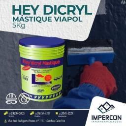 Hey Dicryl Mástique Viapol - 5Kg