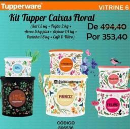 Kit Tupper Caixa Floral