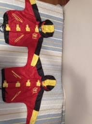 Relíquia - Jaquetas Infantis do Flamengo dos anos 90 - Umbro - Tam 4 e 6 anos
