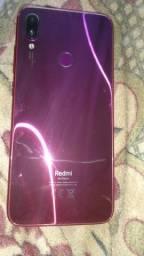Título do anúncio: Redmi Note 7 usado 128 GB