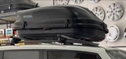 Bagageiro 510l + raque de teto, compatível com Jeep renegade