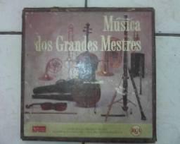 "Caixa Box Vinil da Coletânea ""Música dos Grandes Mestres"""