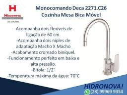 """Monocomando Deca 2271.C26 Cozinha Mesa Bica Móvel DN15 (1/2"""") - Pressão Máxima 40MCA"""