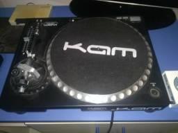 Toca-discos Kam mais pré elc104 com brinde