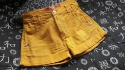 Short Coca-Cola Clothing mostarda
