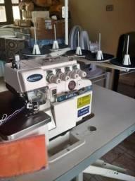 Máquina de costura industrial overloque/interloque