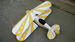 Aeromodelo Biplano Pitts Cod.249 - Sem eletrônica