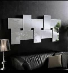 Painel de espelho 15x30 cada quadrado