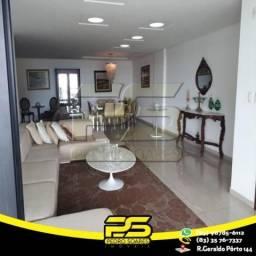Apartamento com 4 dormitórios à venda, 276 m² por R$ 1.350.000 - Cabo Branco - João Pessoa