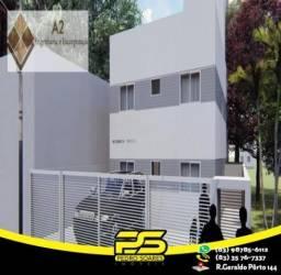 Apartamento com 2 dormitórios à venda, 1 m² por R$ 129.990,00 - Mangabeira - João Pessoa/P