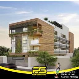 Flat com 3 dormitórios à venda, 60 m² por R$ 265.524 - Jardim Oceania - João Pessoa/PB