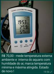 Marcador temperatura int e ext