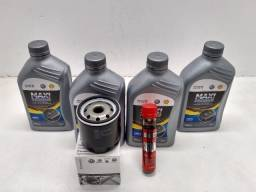 Óleo Sintético Shell 5w40 + Filtro de óleo + Otimizador de Combustível (brinde)