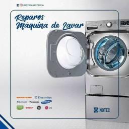 Conserto e manutenção em máquina de lavar