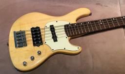 Baixo Cort GB35 lindo, estilo Jazz Bass, novíssimo. Recebo o seu usado como parte